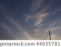 พระอาทิตย์ตก,เมฆ,สดใส 44035781