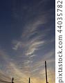 พระอาทิตย์ตก,เมฆ,สดใส 44035782