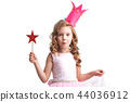 Candy princess girl with magic wand 44036912