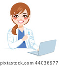 Blue Ribbon Female Doctor 44036977