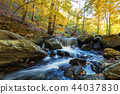 autumn, forest, waterfall 44037830