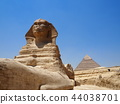 스핑크스와 피라미드 44038701