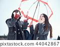 high school girl, winter, snowy 44042867