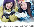 스키장 여성 44043048