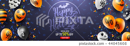 Halloween Sale Promotion Poster 44045608