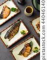 various japanese grilled teriyaki set 44046140