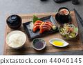 salmon sashimi set 44046145