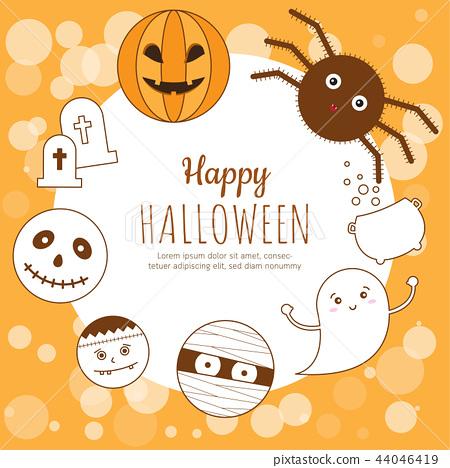 Happy Halloween Poster. 44046419
