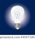 电灯泡例证|玛瑙背景|电灯泡例证 44047186