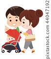 가족 산책 44047192