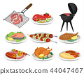 barbecue, food, grill 44047467