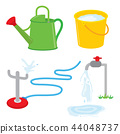 Gardening equipment watering water sprinkle vector 44048737