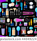 pattern of tools for makeup 44049224