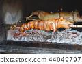 grilled pig. roasted pig 44049797