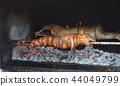 grilled pig. roasted pig 44049799