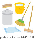 Equipment Tool Cleaner Housework Brush Vector 44050238