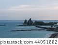 Nachi Katsuura早晨,美丽的海湾,和歌山县 44051882