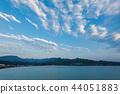 Nachi Katsuura早晨,美丽的海湾,和歌山县 44051883
