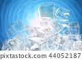 얼음, 덩어리, 블록 44052187