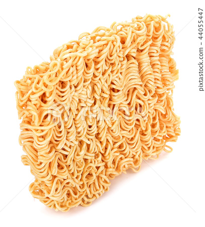 Instant noodles, isolated on white background 44055447