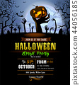 Halloween background for a poster 44056185