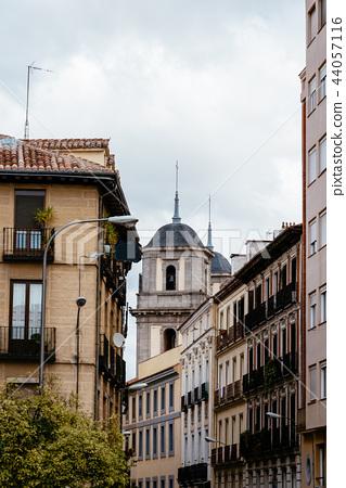 Scenic view of Lavapies neighborhood in Madrid 44057116
