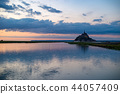 Mont聖米歇爾日落視圖 44057409