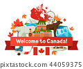 Canada background design. 44059375