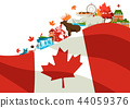 Canada background design. 44059376