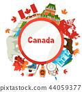 Canada background design. 44059377