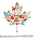 Canada background design. 44059381