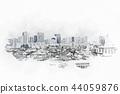 城市 城市风光 城市景观 44059876