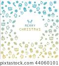 christmas, vector, illustration 44060101
