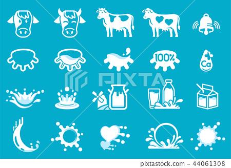 Quality Dairy industry form farm. 44061308