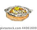 버섯 호일 구이 44061609
