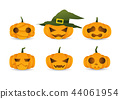 Halloween cute pumpkin 44061954