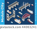 Isometric models of ships 44063241