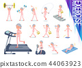 flat type patient senior woman_exercise 44063923