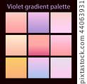 Purple trendy set ultraviolet 44063931