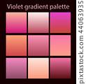 Purple trendy set ultraviolet 44063935