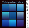 Purple trendy set ultraviolet 44063936