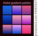 Purple trendy set ultraviolet 44063937