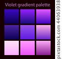 Purple trendy set ultraviolet 44063938