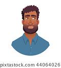 portrait of african man 44064026