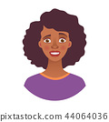 portrait of african woman 44064036