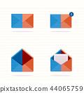 open close envelope 44065759