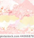總和 - 背景 - 日本紙 - 春天 - 櫻花 - 粉紅 44066878