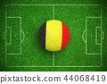 Composite image of football in germany colours 44068419