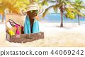 background, beach, frame 44069242