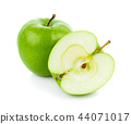Green apples Isolated on a white background 44071017